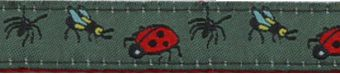 BUGS CANVAS STRAP - click to enlarge