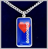 MEDICAL DONOR TAG