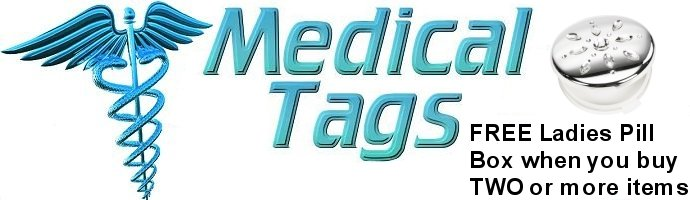 MEDICAL TAG ID JEWELLERY