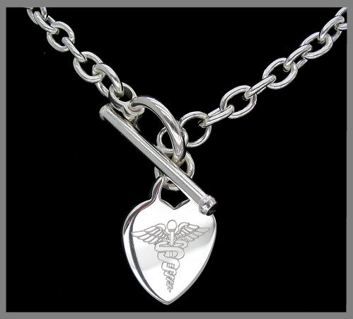 Heart Id Necklace Tiffany Necklaces