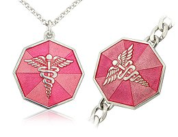 STERLING SILVER MEDICAL TAGS