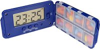 TABTIME SUPER 8 PILL REMINDER ALARM BOX